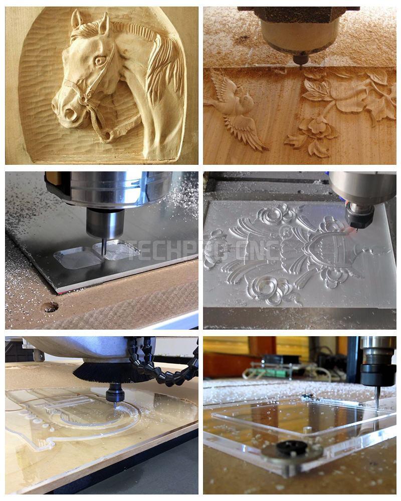 aluminum wood cutting samples