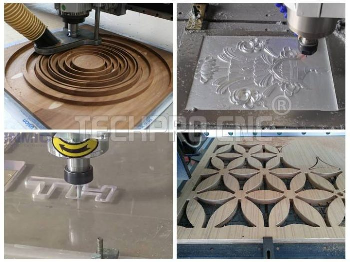 cnc router machine samples