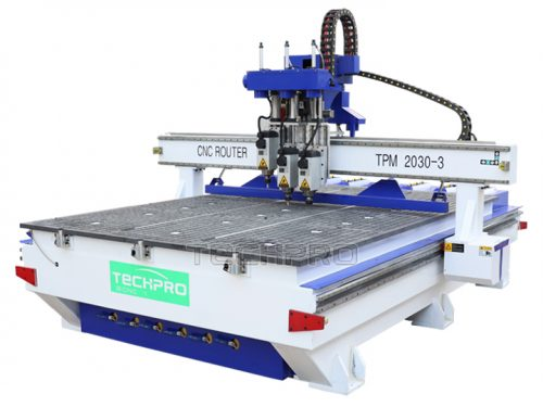 three spindles cnc router for sale