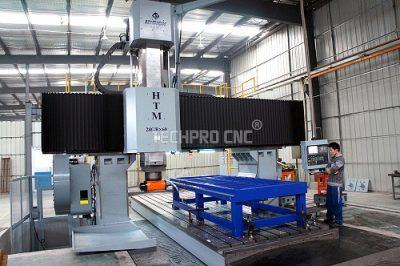 techprocnc milling machine for machine bed