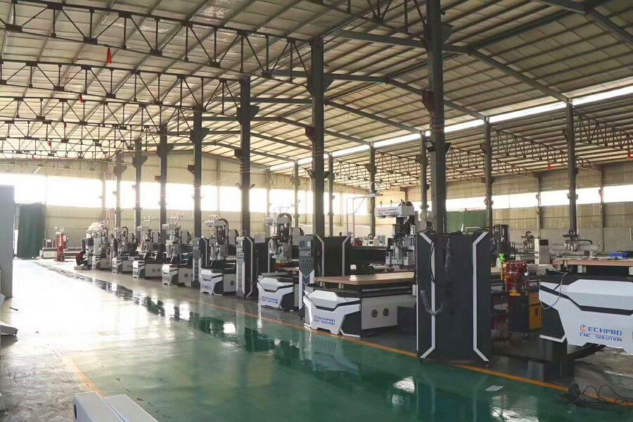 techprocnc cnc router factory