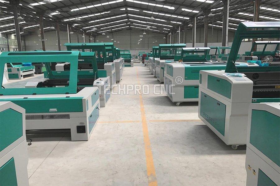 co2 laser cutting machine factory