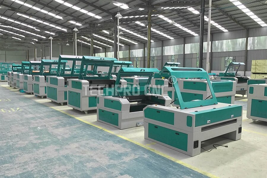 Co2 laser factory of techprocnc