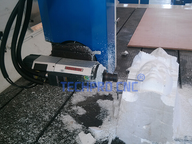 4 axis cnc router machine of techprocnc