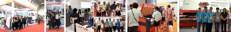 cnc machine exhibition of cn c router,laser cutter,laser engraver