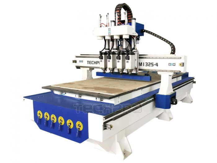 3 axis four spindles cnc router machine