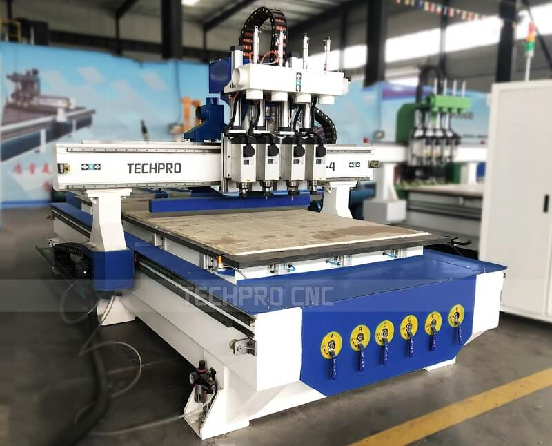 4 spindles cnc router for sales