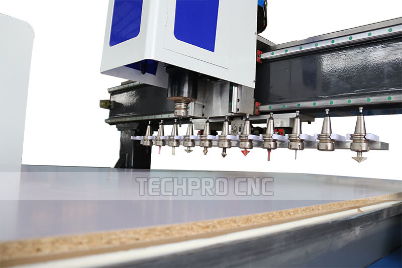 automatic tool changer cnc router machine tools bits magazine
