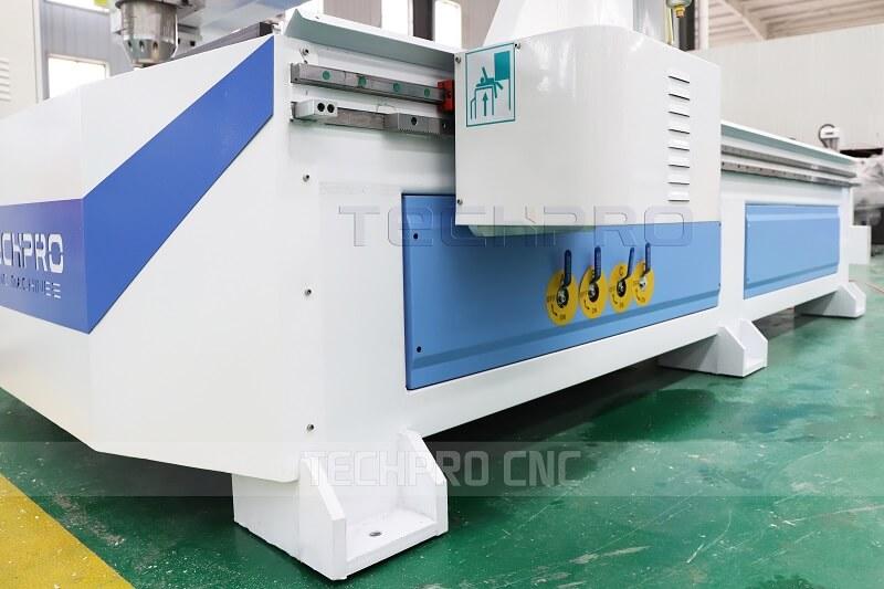 heavy machine of saw blade cnc router machine