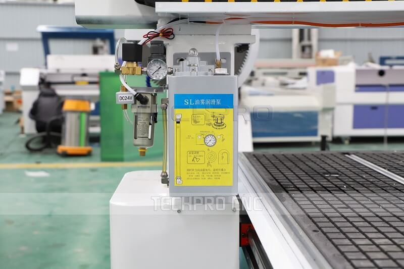 mist cooling system for aluminum cutting
