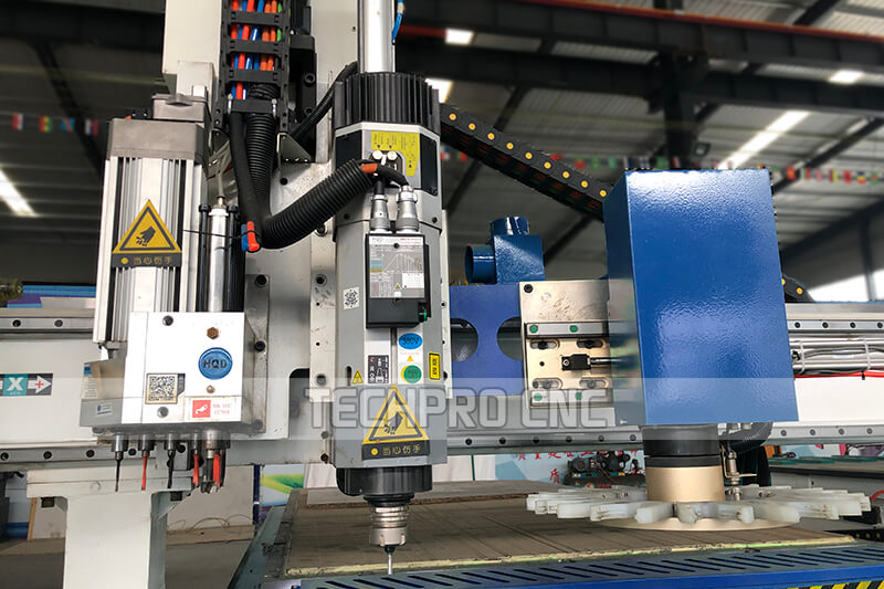 atc hsd air spindle of customized furniture cnc router