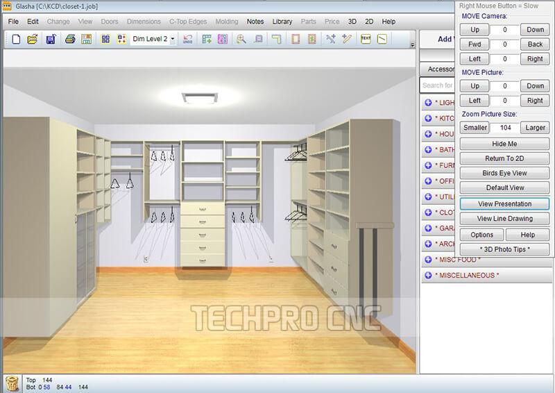 automatic nesting software of techprocnc