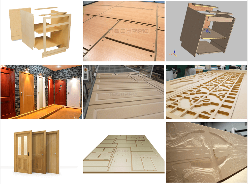 cusotmized furniture cnc router projects