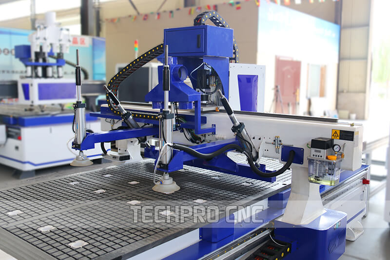 cylinder suction cup of auto feeding cnc router