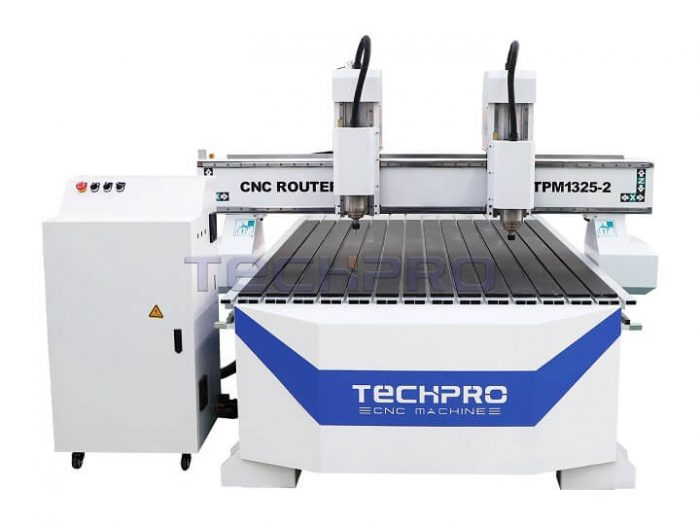 techpro two heads cnc router price
