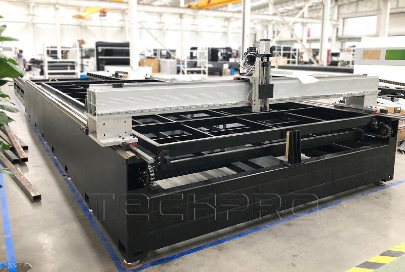 fiber laser cutter gantry
