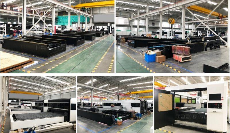 techpro fiber laser cutting machine factory